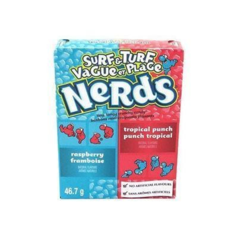 Nerds Raspberry & Tropical Punch 46,7g (USA)