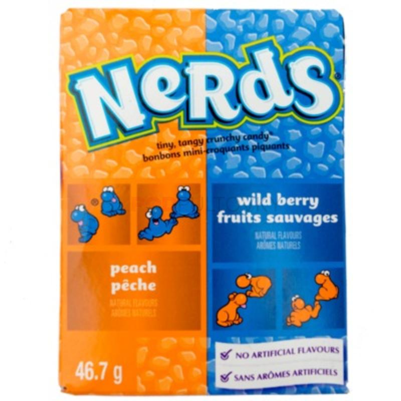 Nerds Peach & Wild Berry 46.7g (USA)