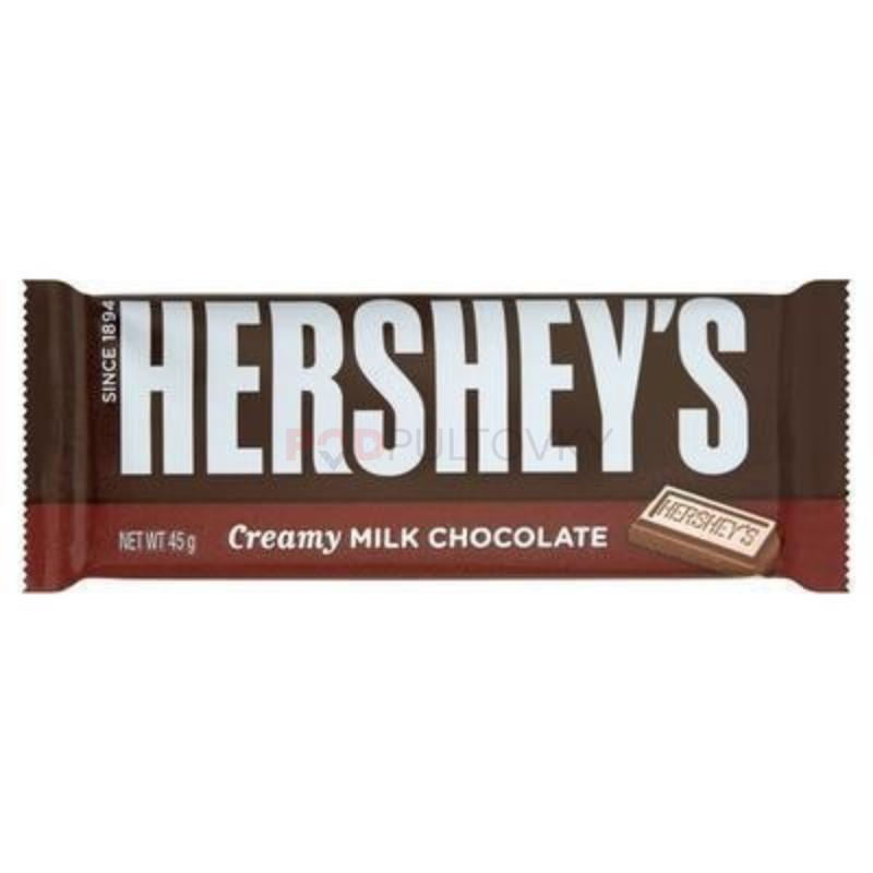 Hershey's Creamy Milk Chocolate Bar 45g (USA)