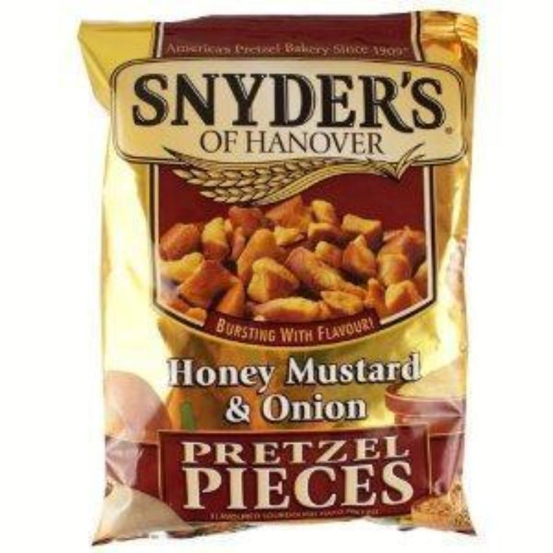 Snyder's Pretzelz Honey Mustard Onion 125g (USA)