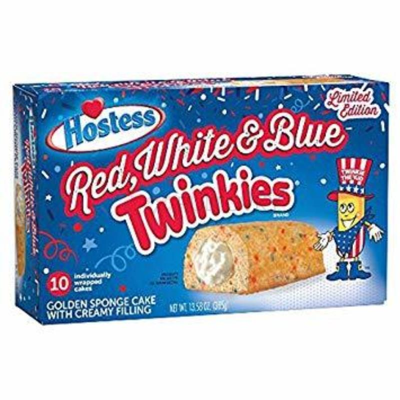 Twinkies Red White & Blue 39g 10ks Balení (USA)