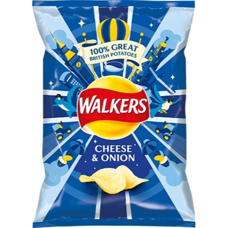 Walkers Cheese & Onion 25g (UK)