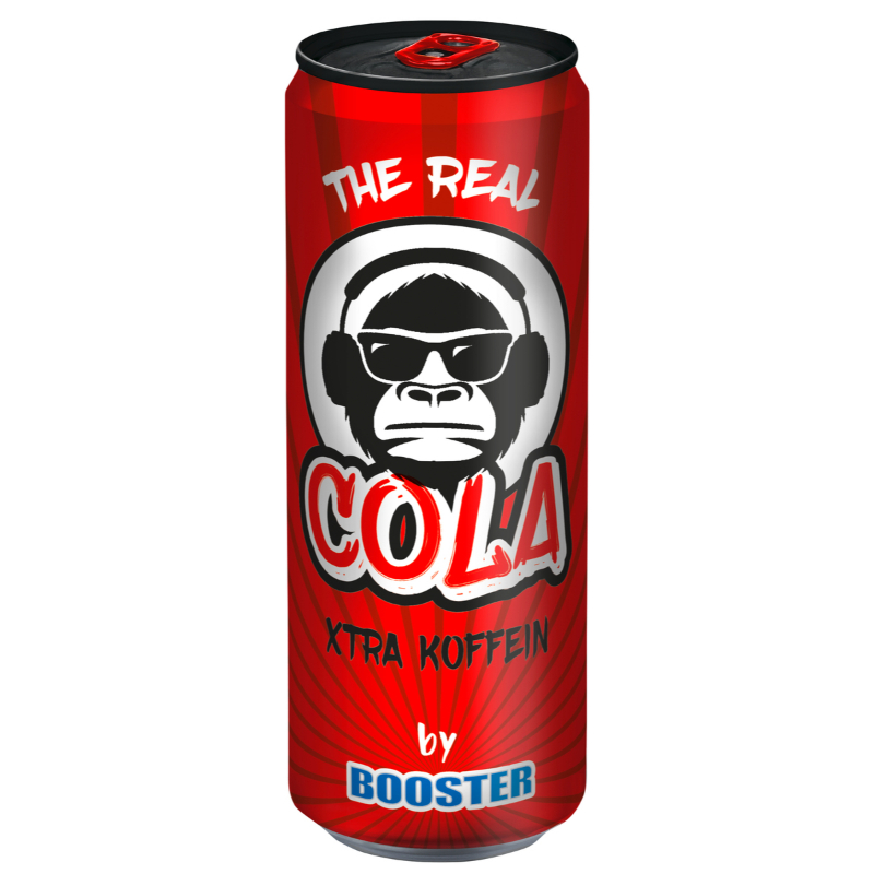 The Real Cola by Booster 330ml (DE)