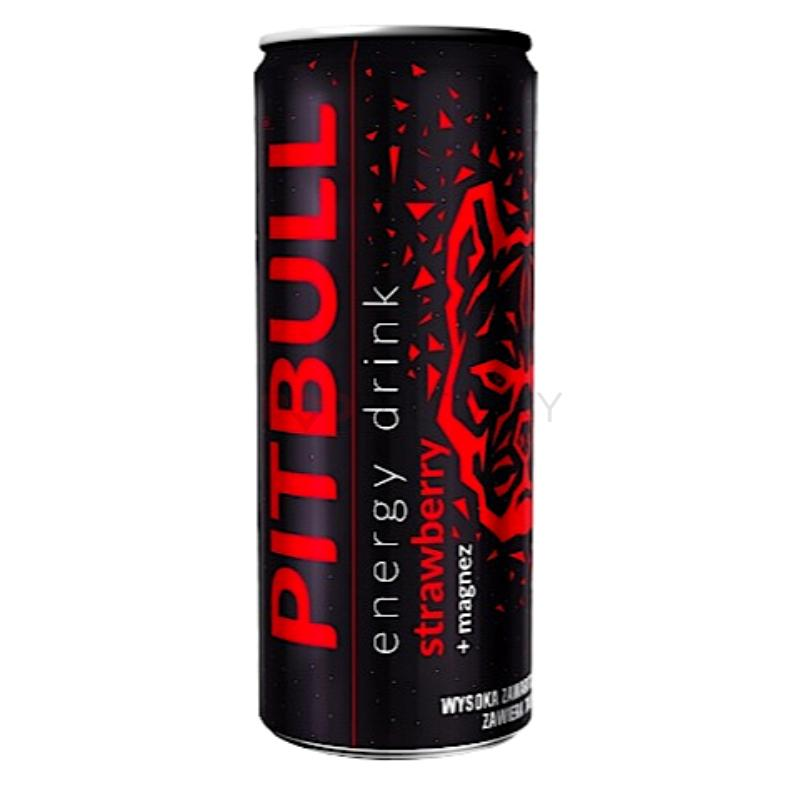 Pitbull Strawberry 250ml (PL)