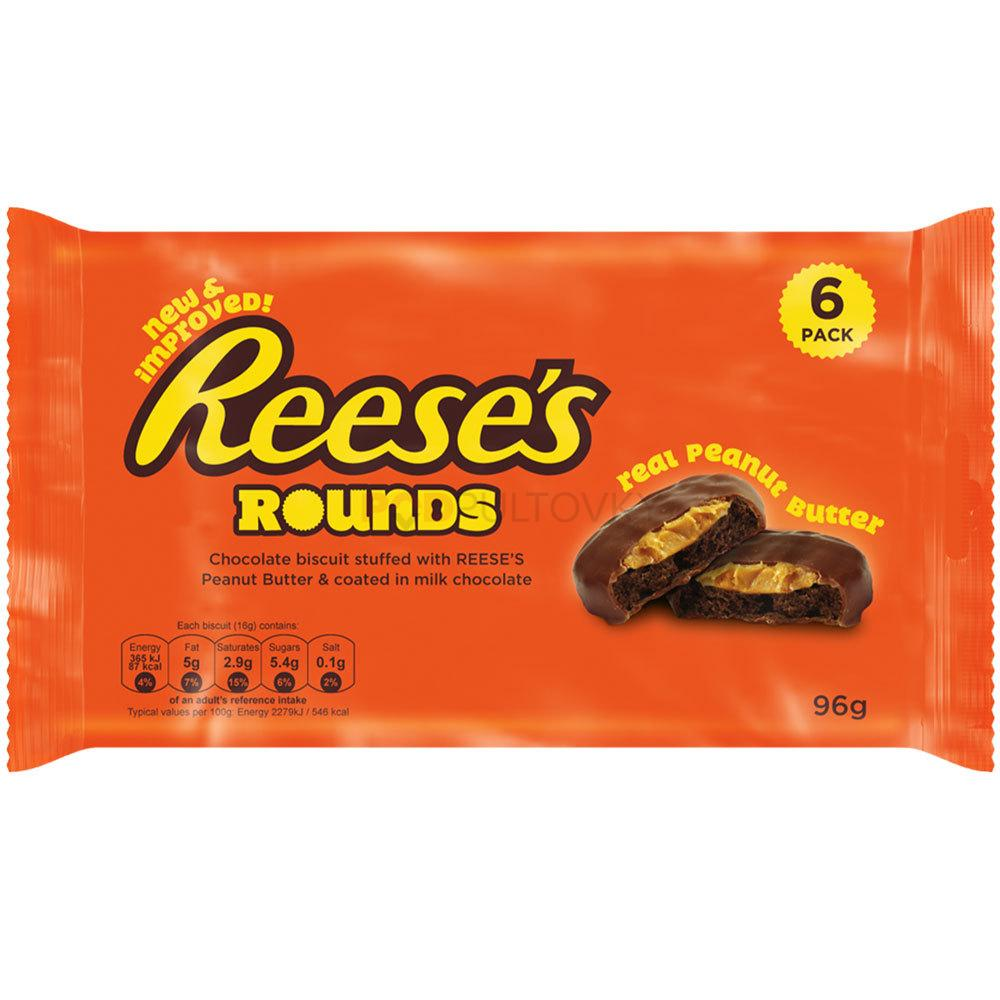Reese's Rounds 96g (USA) DMT 2.3.2021!