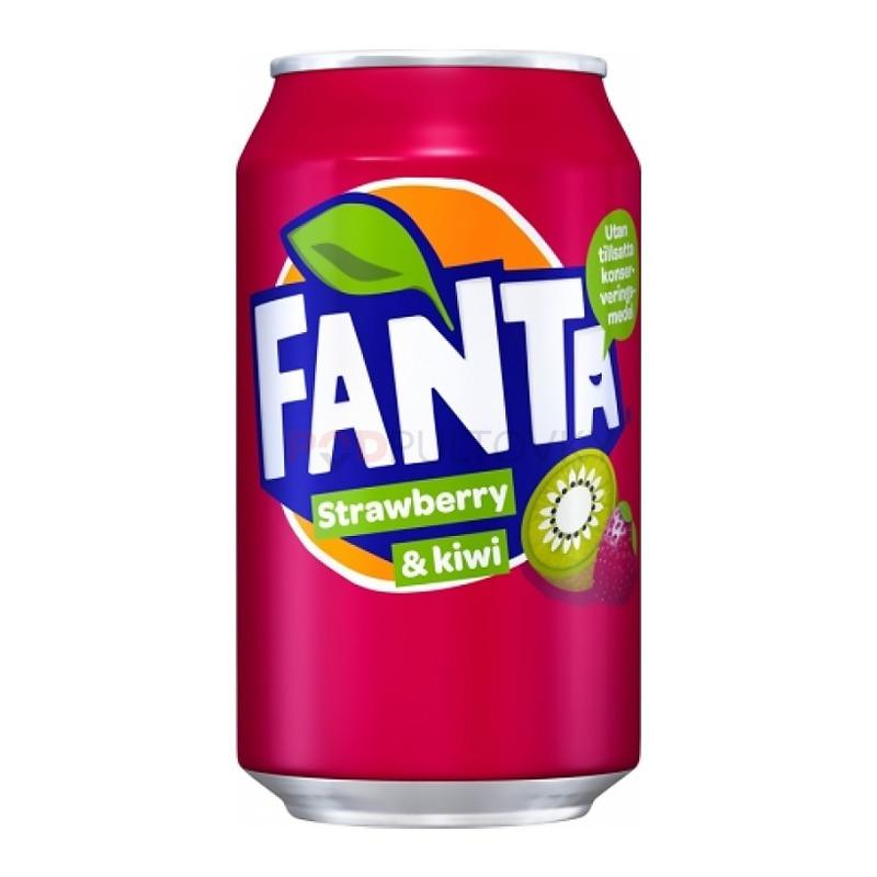 Fanta Strawberry Kiwi 330ml (DK)