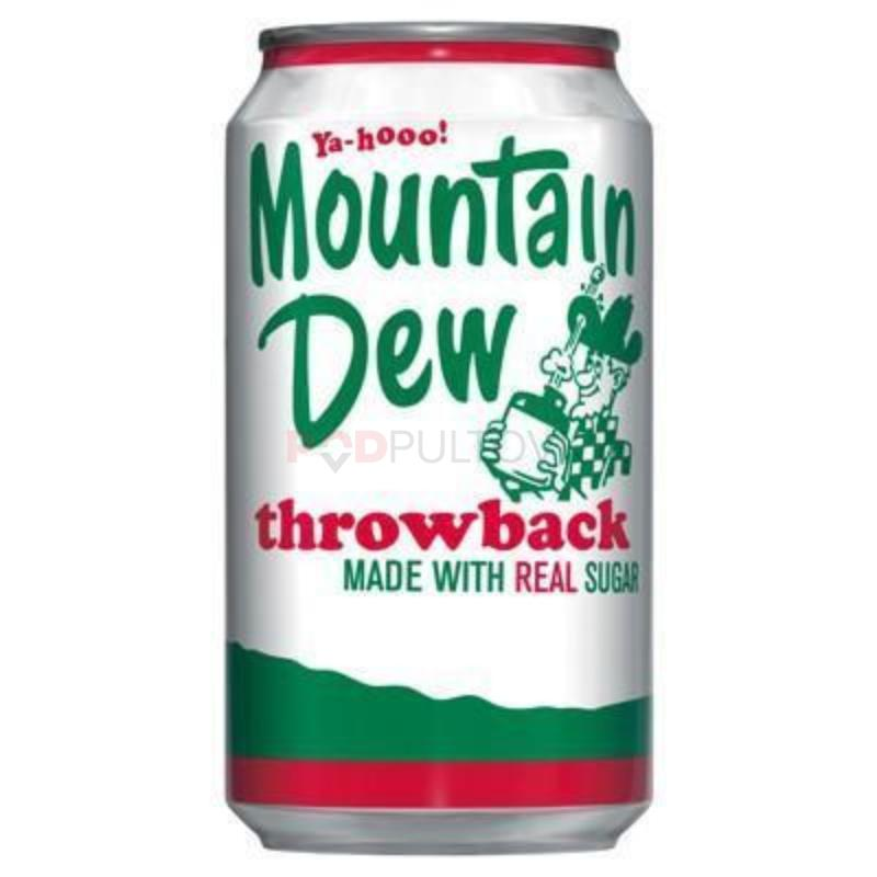 Mountain Dew Throwback 355ml (USA)