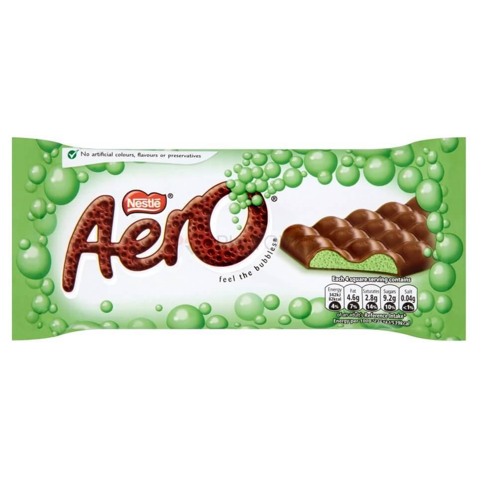 Nestlé Aero Peppermint 100g (UK)