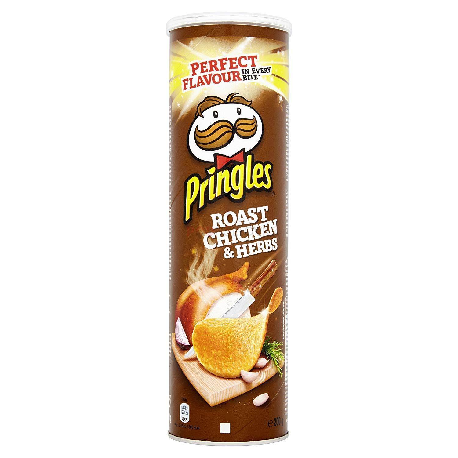 Pringles Roast Chicken & Herbs 200g (DE)