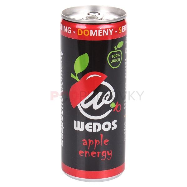 Wedos Apple Energy Drink 250ml (CZ)