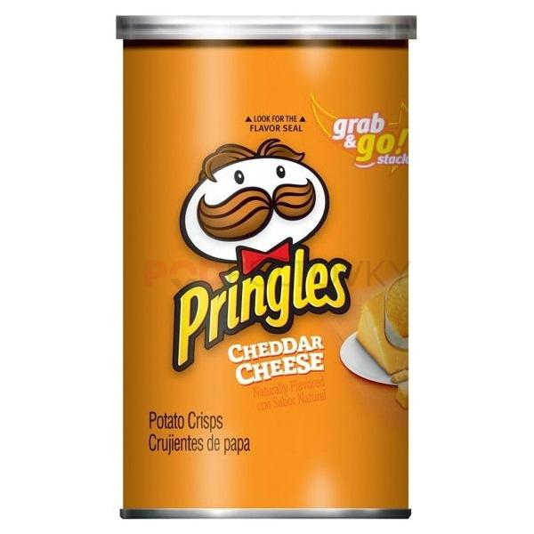 Pringles Cheddar Cheese Grab & Go 71g (UK)