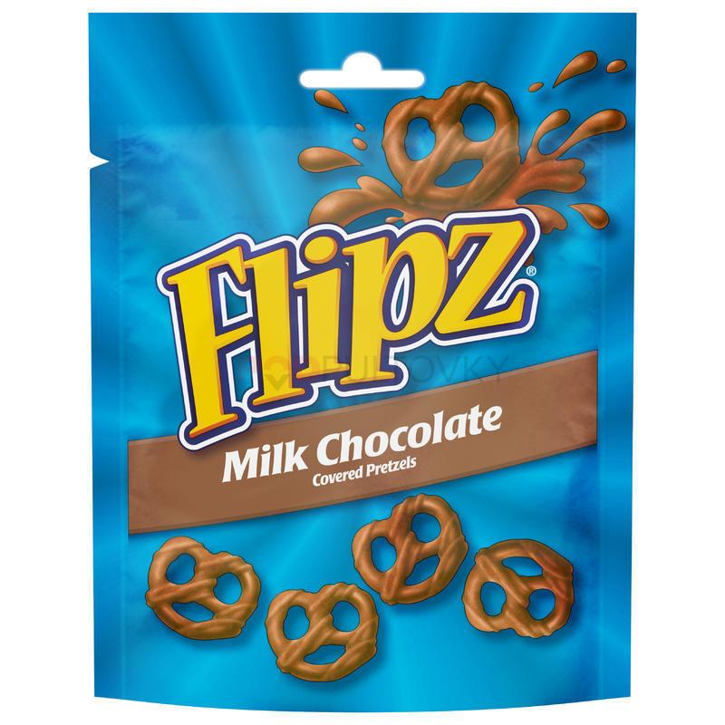 Flipz Milk Chocolate 90g (UK)