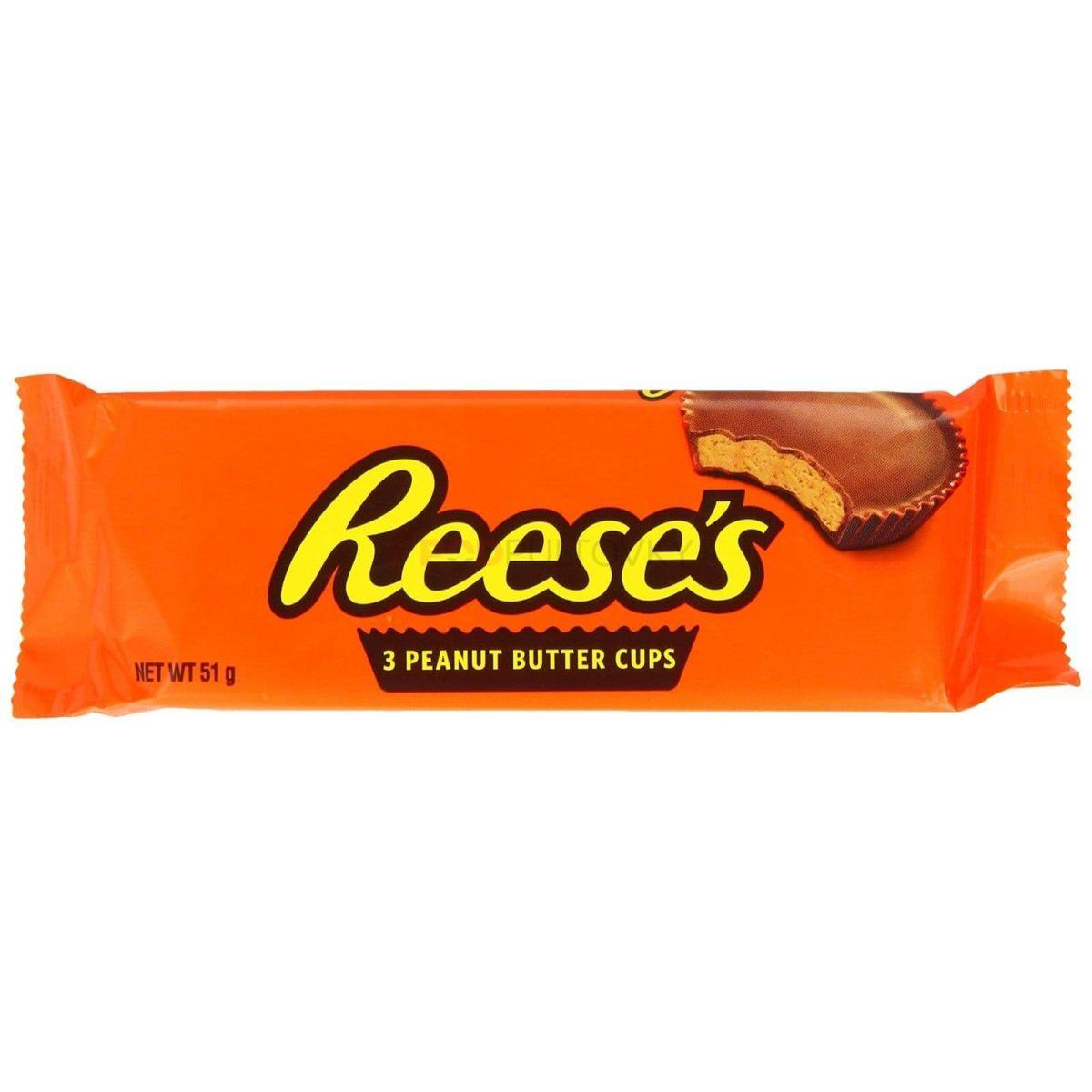 Reese's 3 Peanut Butter Cups 51g (USA)