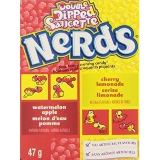 Nerds Watermelon Apple & Cherry Lemonade 47g (USA) DMT 3.2020!