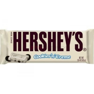 Hershey's Cookies & Cream Bar 43g (USA)