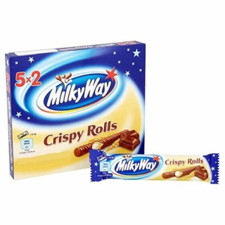 Milky Way Crispy Rolls 125g (UK)