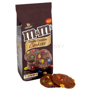 M&M's Double Chocolate Cookies 180g (UK)