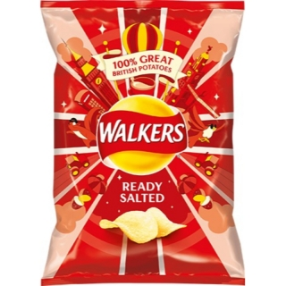 Walkers Ready Salted 25g (UK) DMT 8.2.2020!