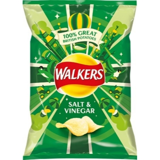 Walkers Salt & Vinegar 25g (UK)