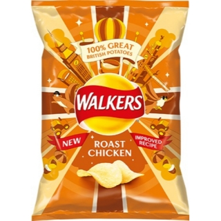 Walkers Roast Chicken 25g (UK)