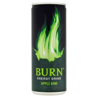 Burn Apple Kiwi 250ml (PL)