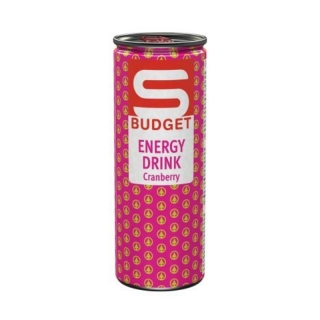 S-Budget Cranberry 250ml (AT)