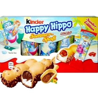 Kinder Happy Hippo Cacao Sommer Spas Edition 103,5g (DE)