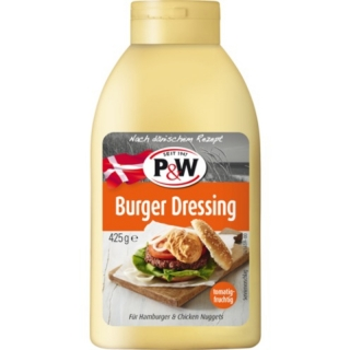 P&W Burger Dressing 425g (DE)