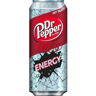 Dr Pepper Energy 500ml (DE)