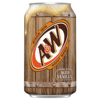 A&W Root Beer 355ml (USA)