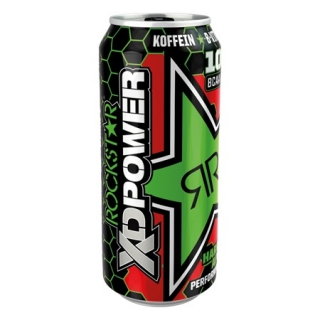 Rockstar XDPower Hardcore Apple 500ml (UK)