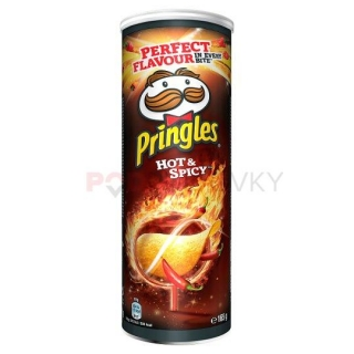 Pringles Hot & Spicy 165g (CZ)