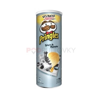 Pringles Salt & Pepper 165g (CZ) DMT 6.10.2020!