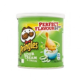 Pringles Sour Cream & Onion 40g (UK)