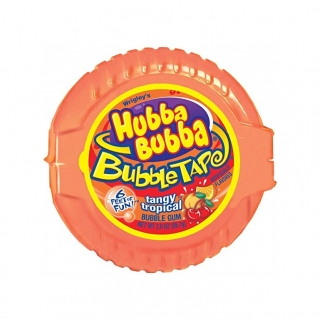 Hubba Bubba Bubble Tape Tangy Tropical 56.7g (UK)