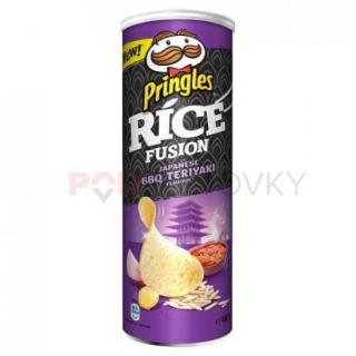 Pringles Rice Fusion Japanese BBQ Teriyaki 160g (UK)