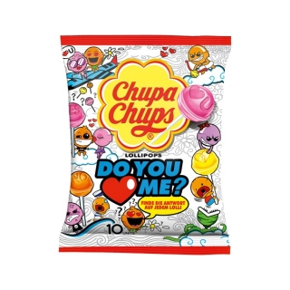 Chupa Chups Do You Love Me Lollipops 120g (DE)