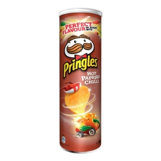 Pringles Hot Paprika Chilli 200g (DE)