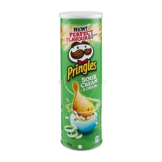 Pringles Sour Cream & Onion 165g (CZ)