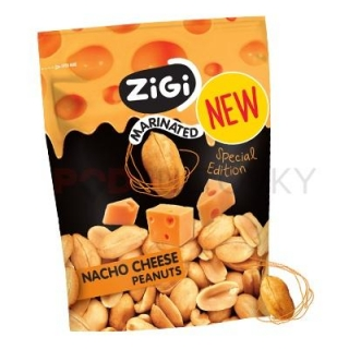ZiGi Nacho Cheese Marinated Peanuts 70g (CZ)