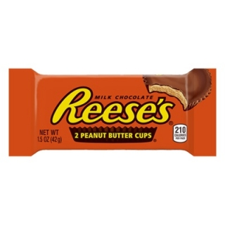 Reese's 2 Peanut Butter Cups 42g (USA) DMT 31.5.2020!