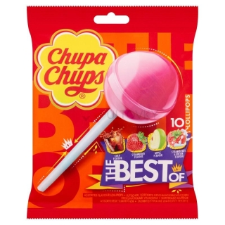 Chupa Chups The Best Of  Lollipops 120g (UK)