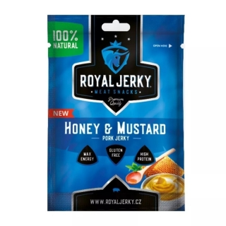 Royal Jerky Honey & Mustard Pork 22g (CZ)