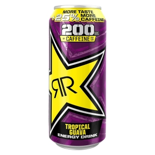 "Rockstar Punched Tropical Guava ""+25% Caffeine"" 500ml 99p (UK)"