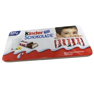 Kinder Schokolade Metallic Box 125g (DE)