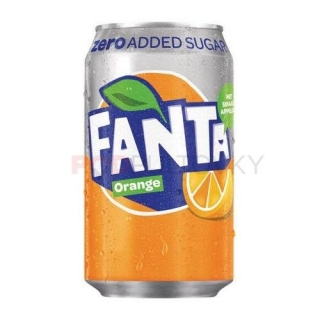 Fanta Orange Zero 330ml (UK)