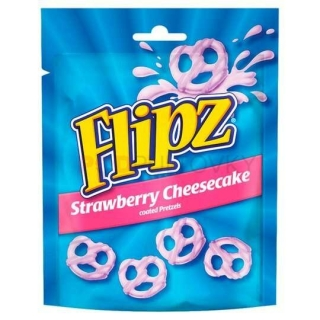 Flipz Strawberry Cheesecake 90g (UK)