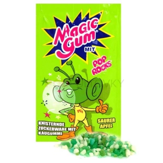 Pop Rocks Magic Gum Sauer Apfel 7g (DE)
