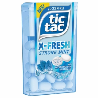 Tic Tac X-Fresh Strong Mint 16,4g (DE)