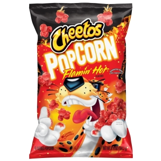 Cheetos Popcorn Flamin' Hot 184,2g (USA) DMT 30.4.2021!